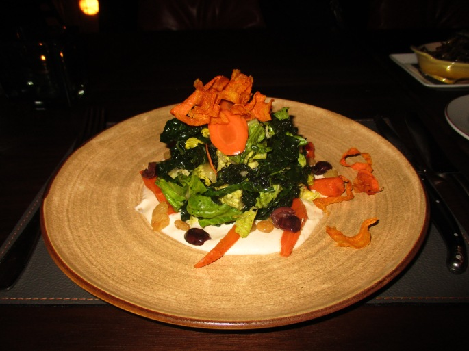 cafe boulud grilled kale salad